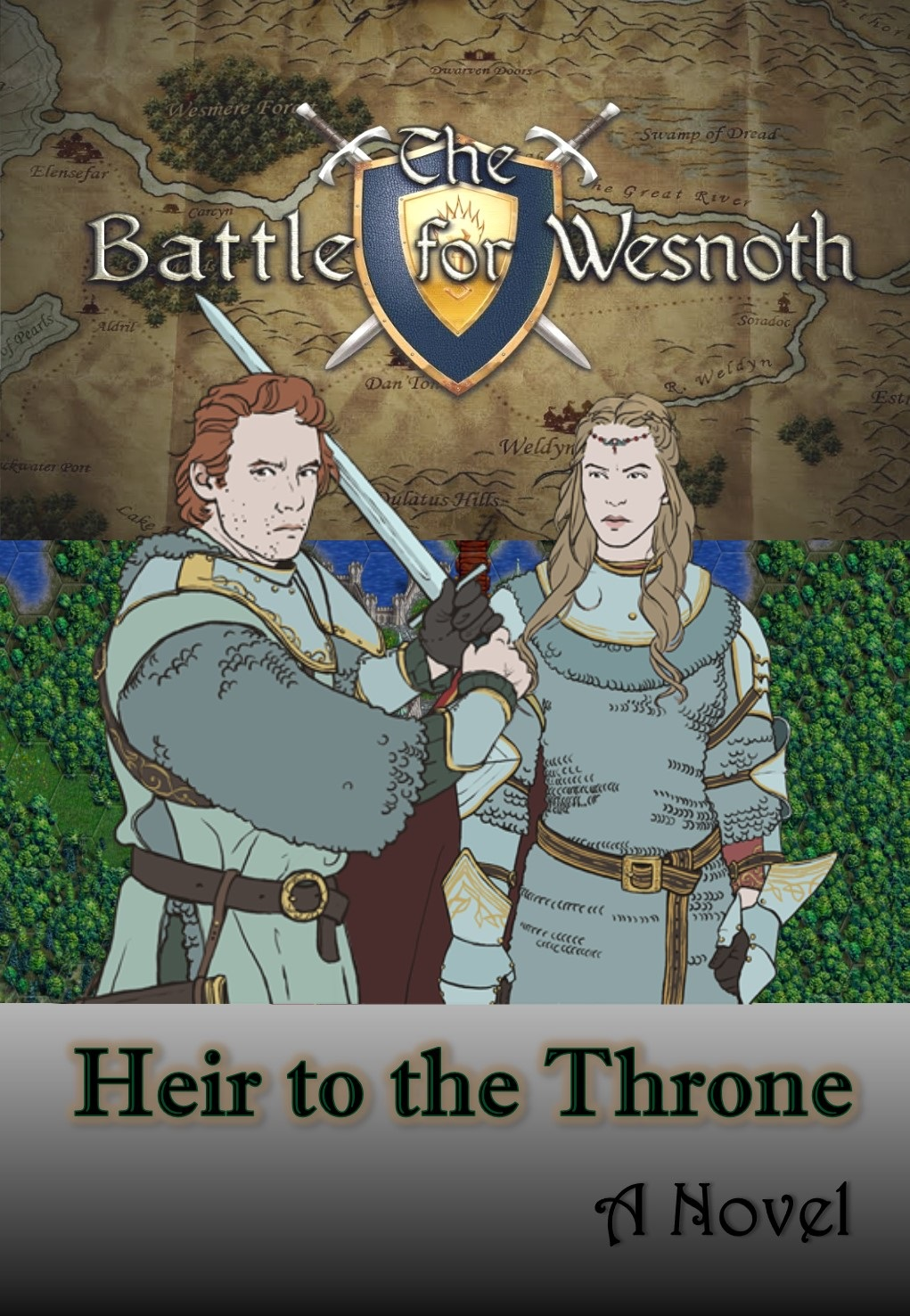 Battle for Wesnoth: Heir to the Throne (A Novel)